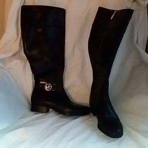 M Michael Kors Riding Boot 7M black nwot